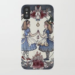 Wonder and Wander iPhone Case