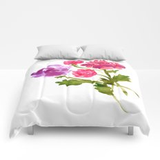 Floral No. 1 Comforters