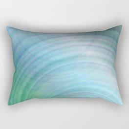 Light blue abstract Rectangular Pillow