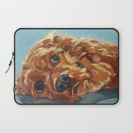 Newton the Lounging Cocker Spaniel Laptop Sleeve