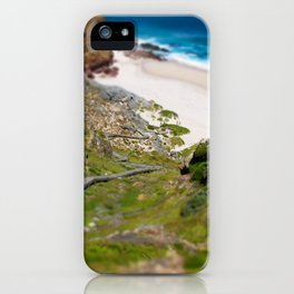 down the beach path iPhone Case