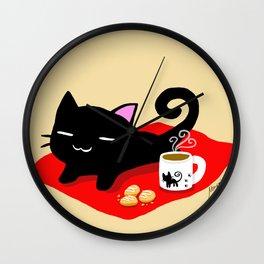 Jiji Tea Time Wall Clock