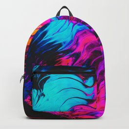 Abstract Paint Render V2 Backpack