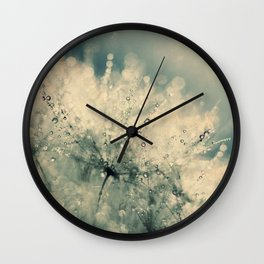 dandelion IX Wall Clock