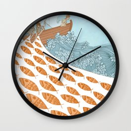 Leave Your Nets Wall Clock