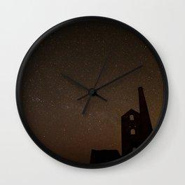 Stry Cornish night 1 Wall Clock