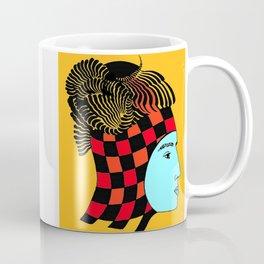 The Checkered Lady Coffee Mug