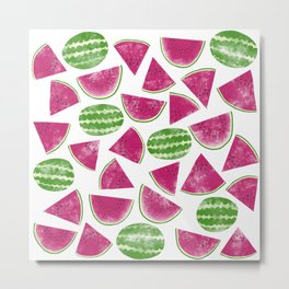 Watermelons Metal Print