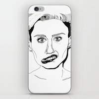 miley iPhone & iPod Skins featuring Miley  by ☿ cactei ☿