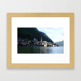 Hallstatt Austria Framed Art Print