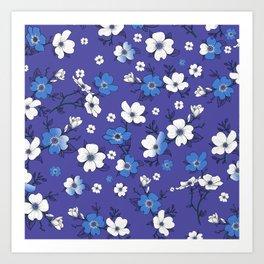 Lovable Flowers 5 Art Print