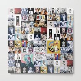 Mac Miller Mix 01 Metal Print