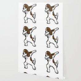 Funny Dabbing English Springer Dog Dab Dance Wallpaper