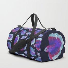 Blue Betta Duffle Bag