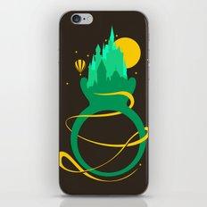 Emerald Ring iPhone & iPod Skin