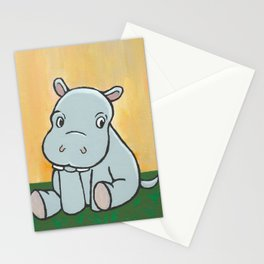 Baby Hippo Stationery Cards