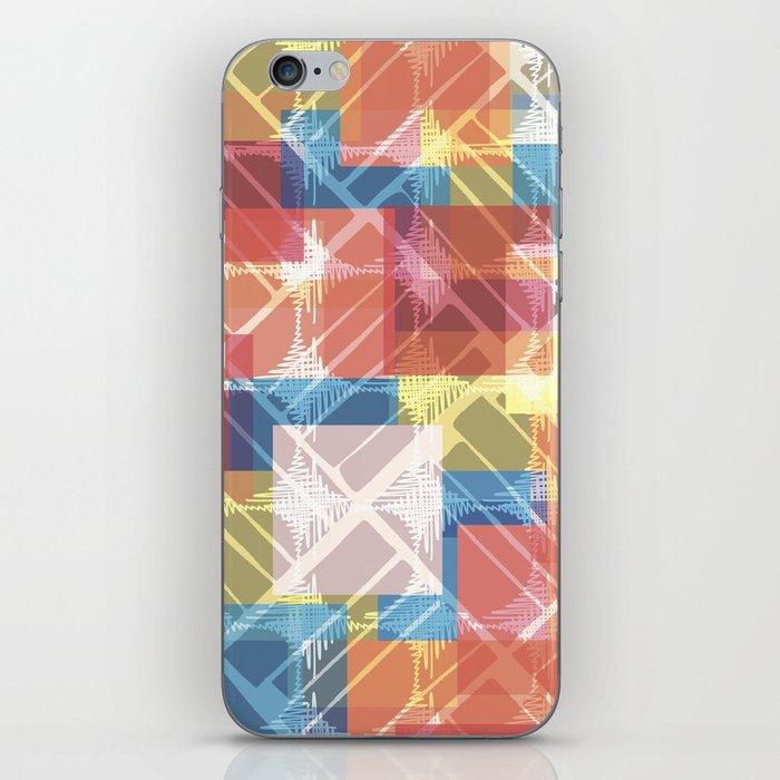 squares n holes... iPhone Skin