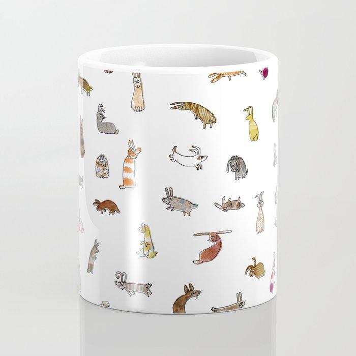 Rabbit pattern Coffee Mug