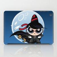 powerpuff girls iPad Cases featuring Powerpuff Bayonetta by Marco Mottura - Mdk7