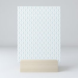 Anchor Pattern Mini Art Print