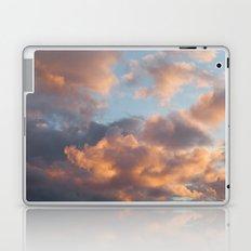 Peach Clouds Laptop & iPad Skin