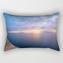 Watching the City lights II Rectangular Pillow