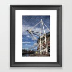 Millenium Stadium, Cardiff. Framed Art Print