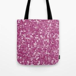 Festival Fuchsia Polka Dot Bubbles Tote Bag