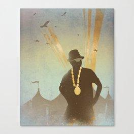 Festival King... Canvas Print