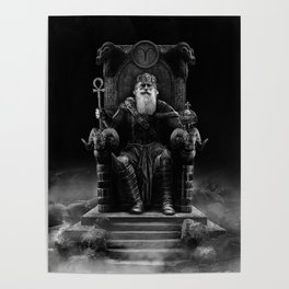 IV. The Emperor (Version III) Poster