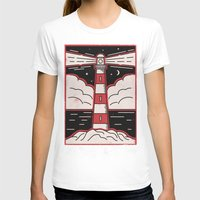 lighthouse T-shirts featuring Lighthouse by Andy Rogerson