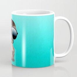 Cool Baby Platypus Wearing Sunglasses Coffee Mug