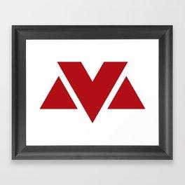 MV Logo Framed Art Print