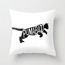 Puma Bait Throw Pillow