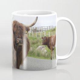 Highland cows on the Isle Coffee Mug