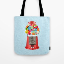 crazy candy Tote Bag