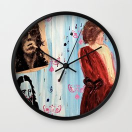 The Male Gaze Wall Clock