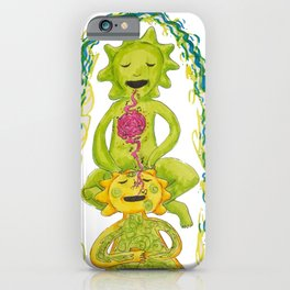 Singing our love into each other by Nat iPhone Case