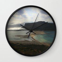Crete, Greece 3 Wall Clock