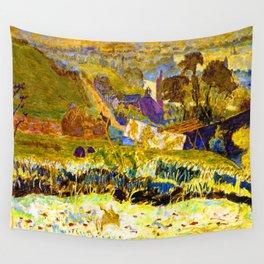 Pierre Bonnard Autumn Morning Wall Tapestry