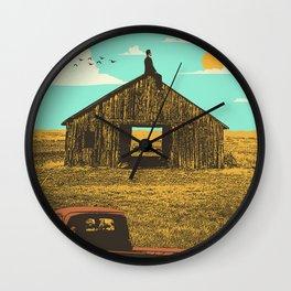 BARN DAYS Wall Clock