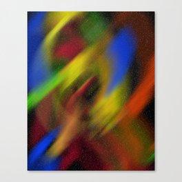 universe lighting Canvas Print