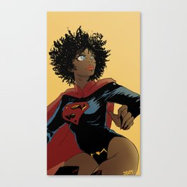 I want to be super too Canvas Print