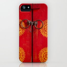 Temple Door iPhone Case