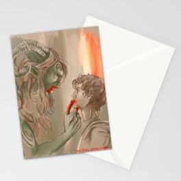 El laberinto del Hannibal Stationery Cards