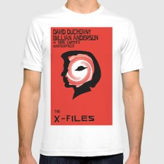 The X-Files as Vertigo MEDIUM White Mens Fitted Tee