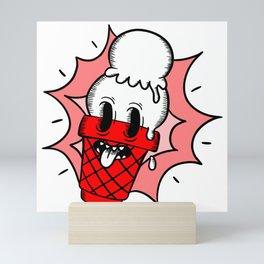 Ice scream cone Mini Art Print