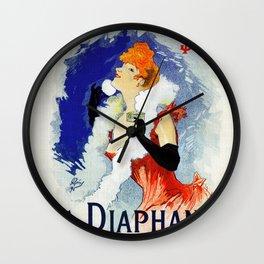 La Diaphane Sarah Bernhardt Wall Clock