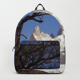 Fitz Roy Mountain Landscape (Patagonia, South America) Backpack