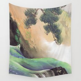 Spring of Mountain Yamamoto Shunkyo Wall Tapestry